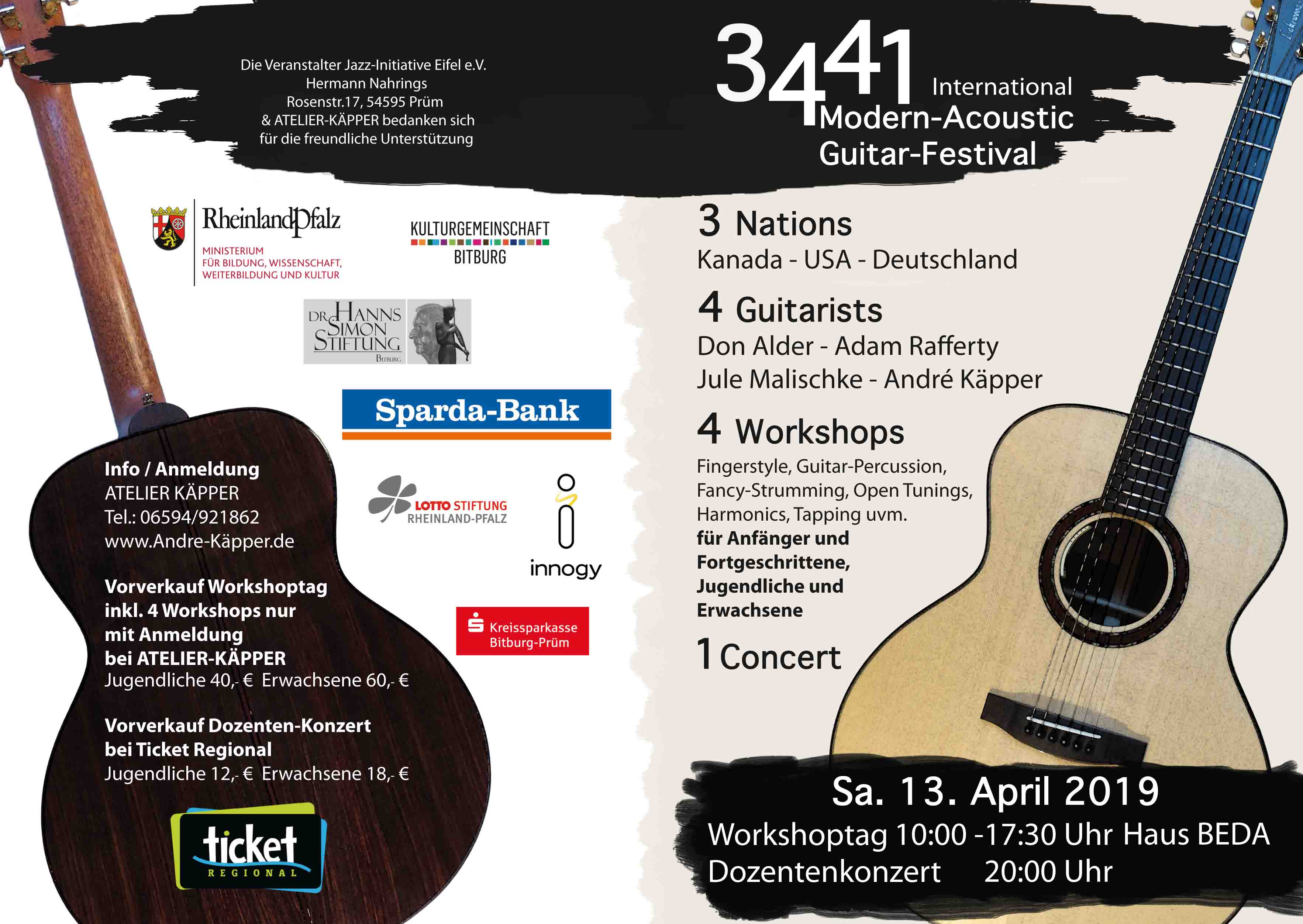 acoustic guitar giveaway 2019 4 international modern acoustic guitar festival 2019 6779